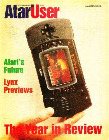 AtariUser 09 (January 1992)