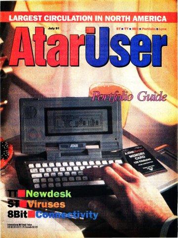 AtariUser 03 (July 1991)