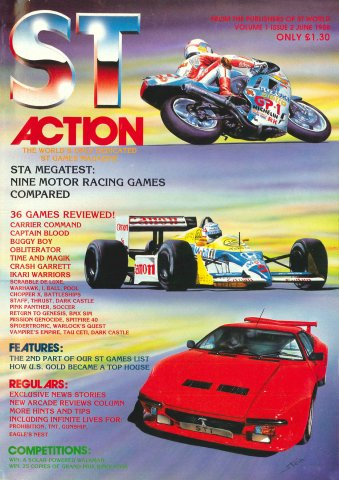 ST Action Issue 02 (June 1988)