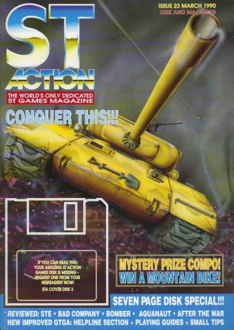 ST Action Issue 23 (March 1990)
