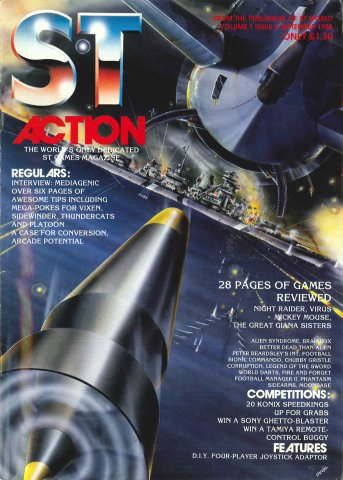 ST Action Issue 05 (September 1988)