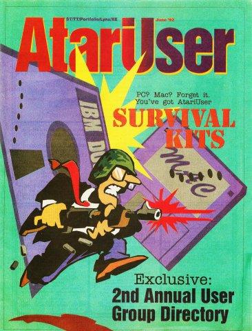 AtariUser 14 (June 1992)
