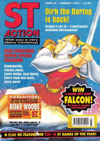 ST Action Issue 57 (January 1993)