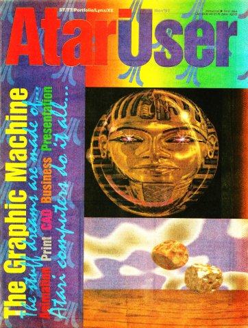AtariUser 07 (November 1991)