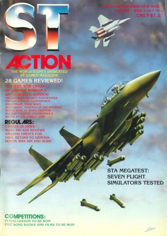 ST Action Issue 03 (July 1988)