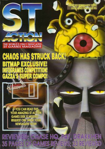 ST Action Issue 22 (February 1990)