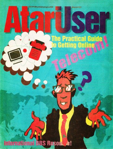 AtariUser 11 (March 1992)