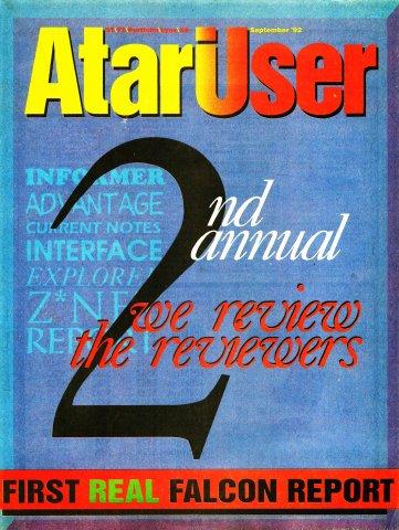 AtariUser 17 (September 1992)