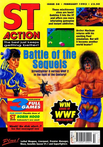ST Action Issue 58 (February 1993)