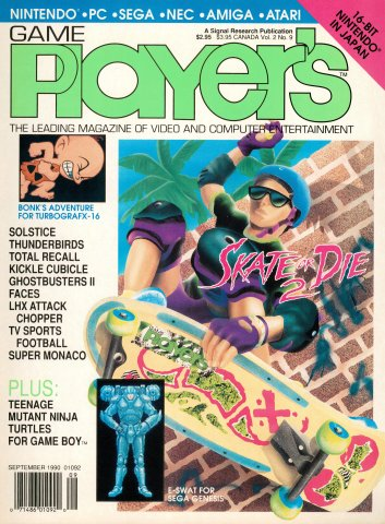 Game Player's Issue 015 September 1990