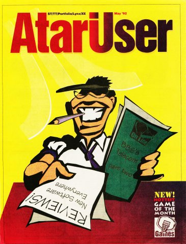 AtariUser 13 (May 1992)