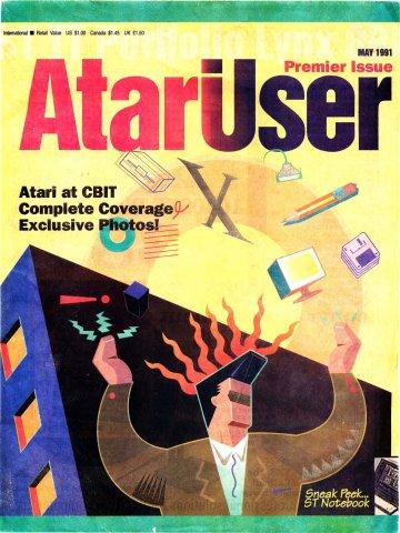 AtariUser 01 (May 1991)