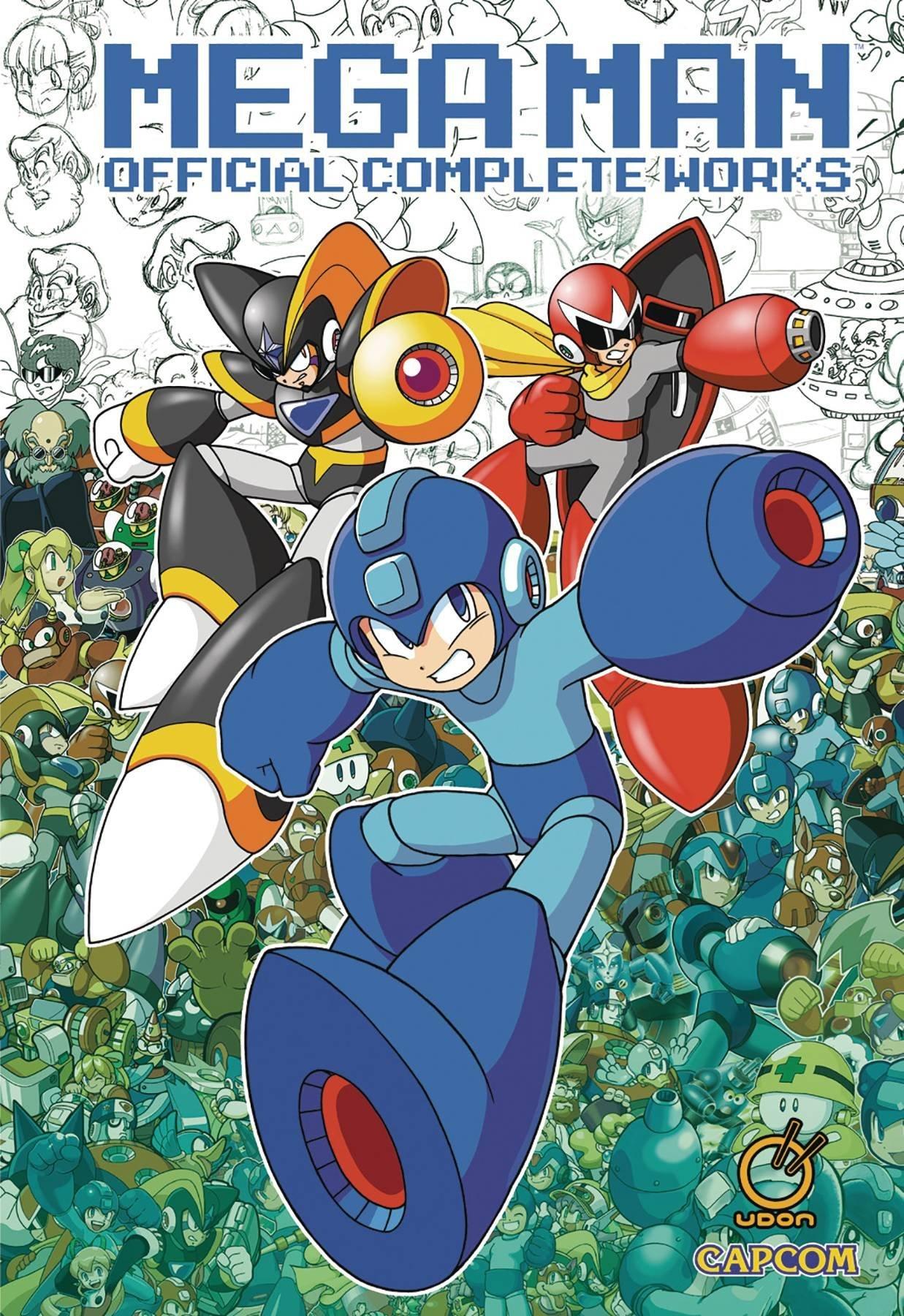 Mega Man - Official Complete Works