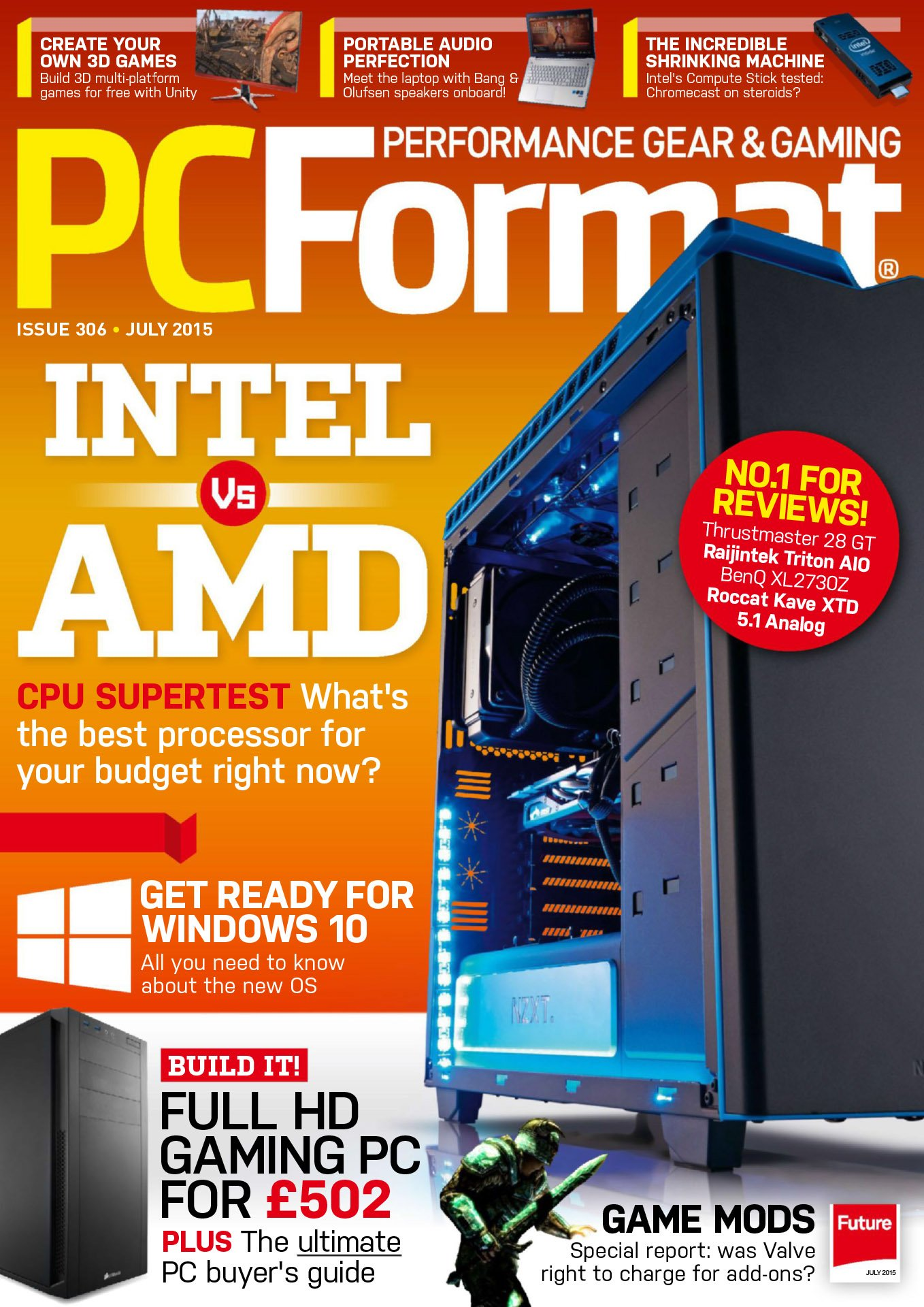 PC Format Issue 306 (July 2015)