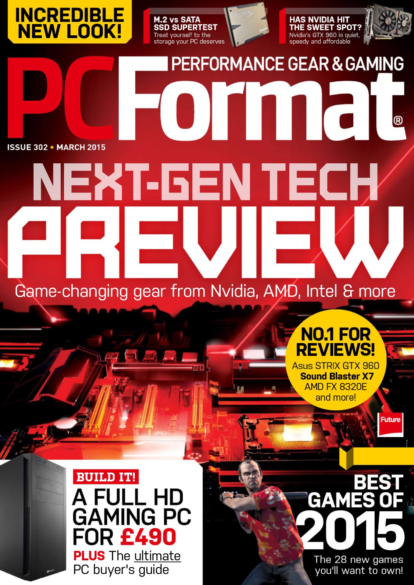 PC Format Issue 302 (March 2015)