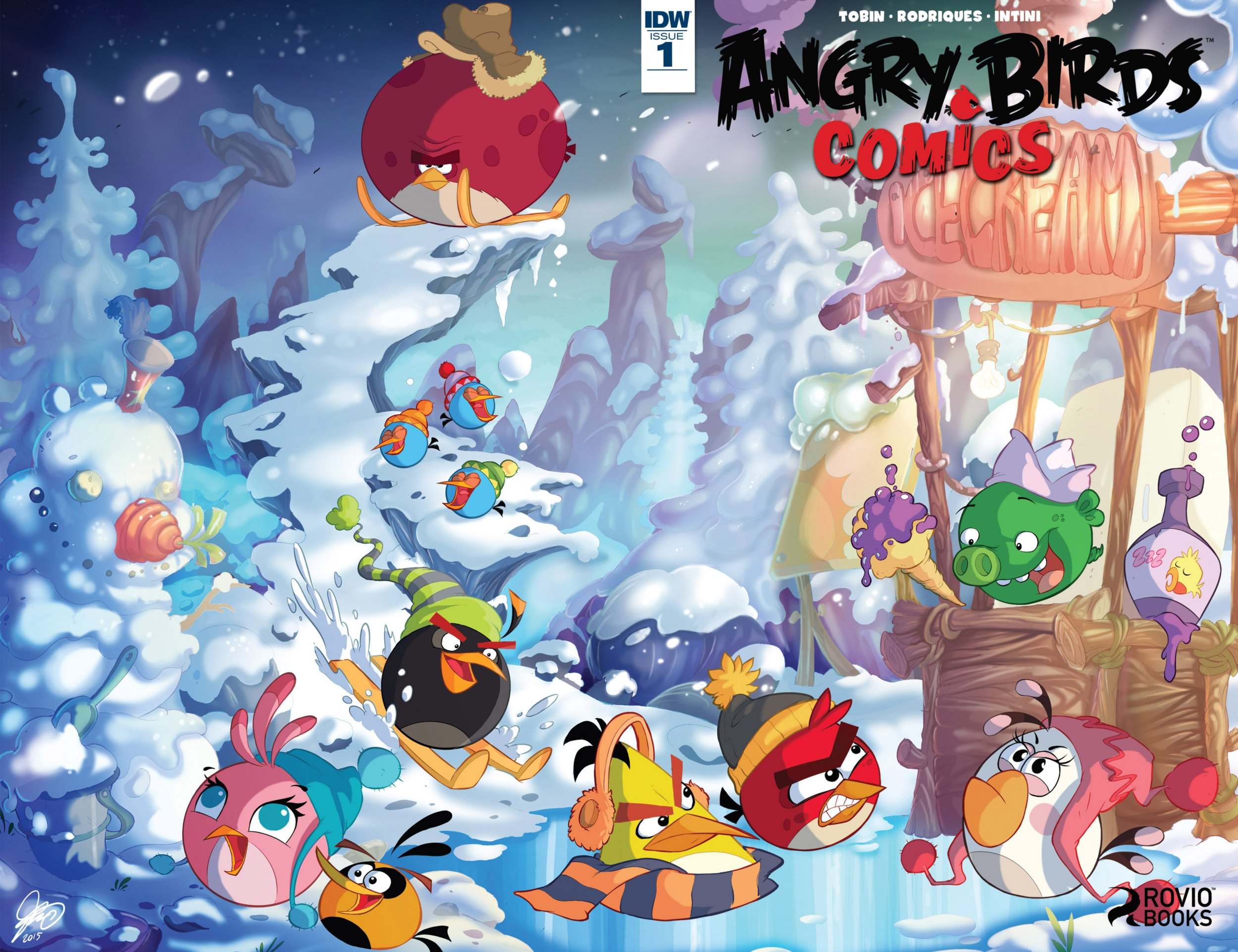 Angry Birds Comics Vol.2 001 (January 2016)