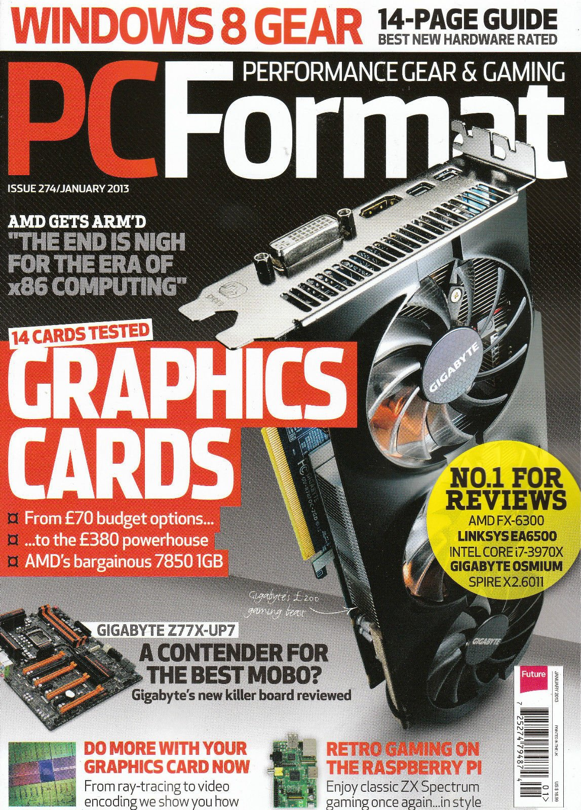 PC Format Issue 274 (January 2013)