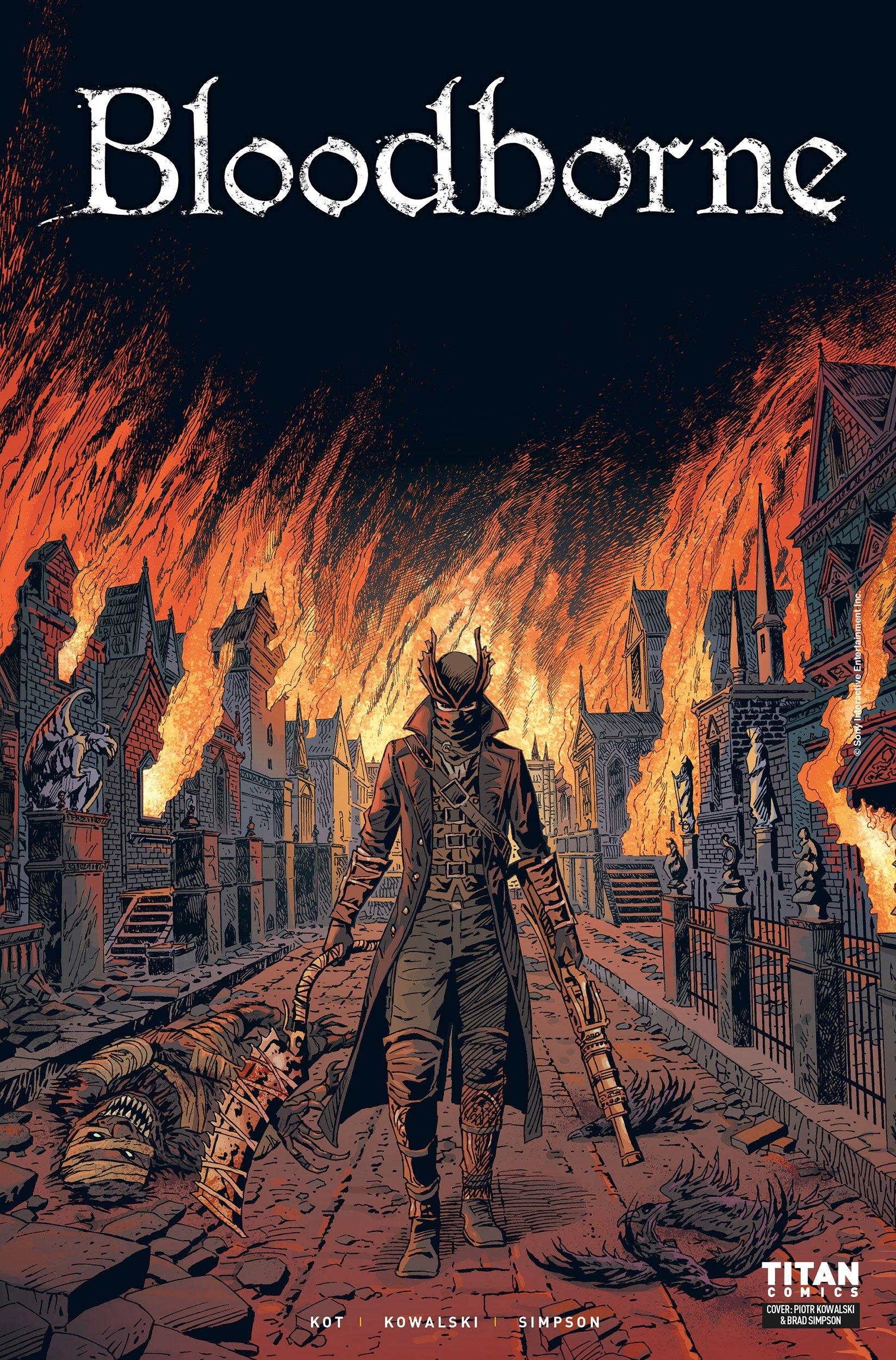 Bloodborne 001 (March 2018) (cover c)