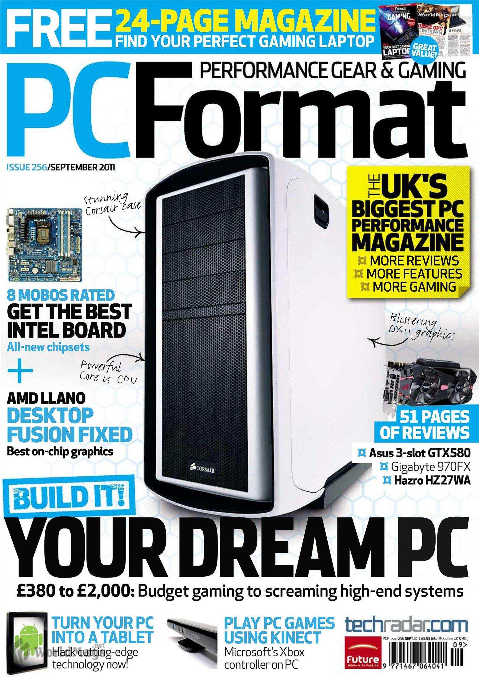 PC Format Issue 256 (September 2011)