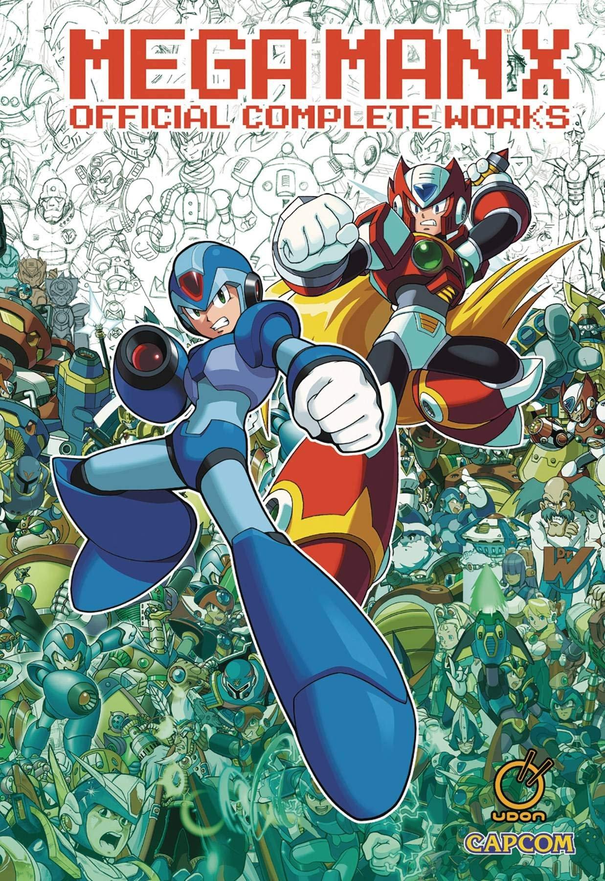 Mega Man X - Official Complete Works