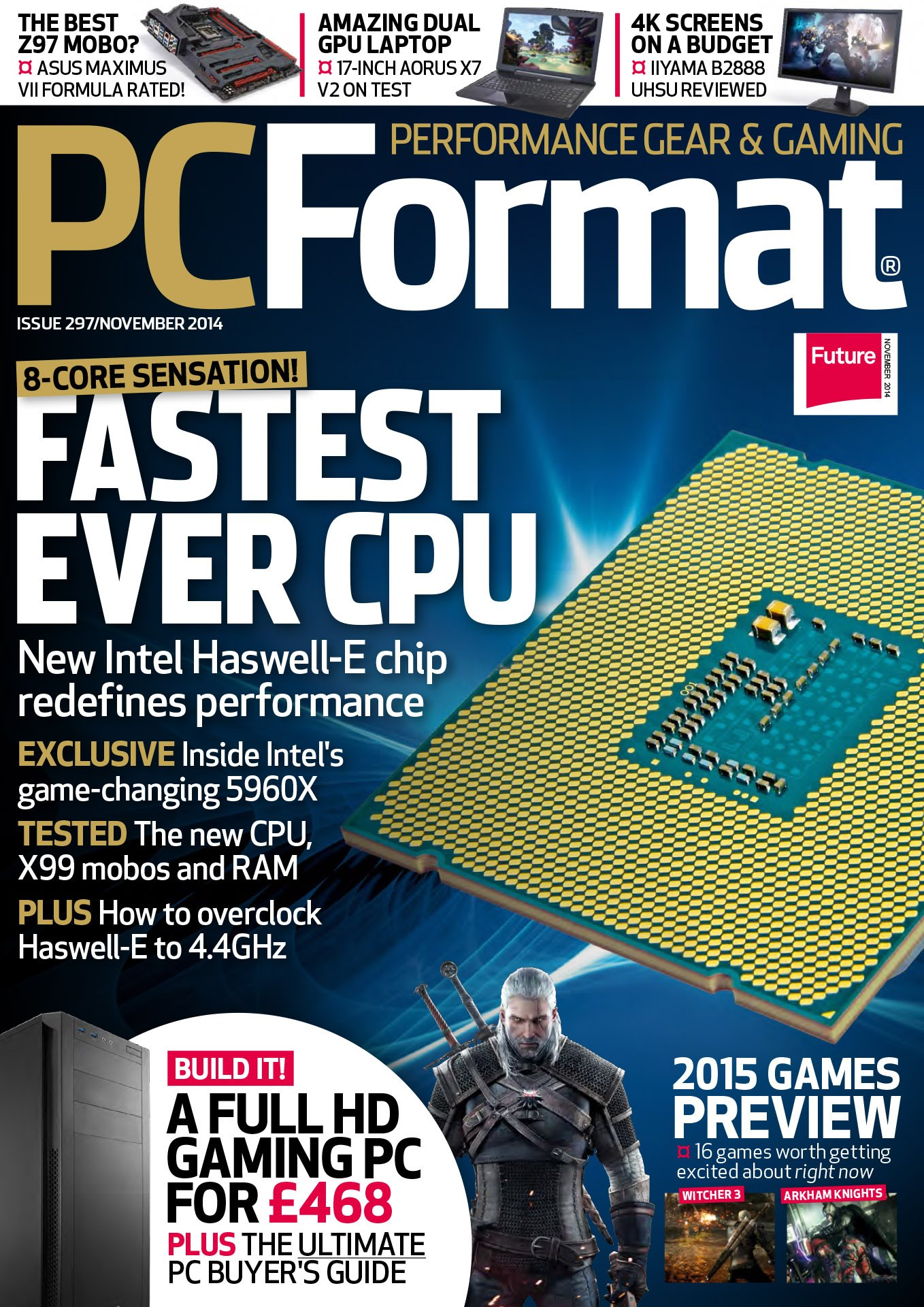 PC Format Issue 297 (November 2014)