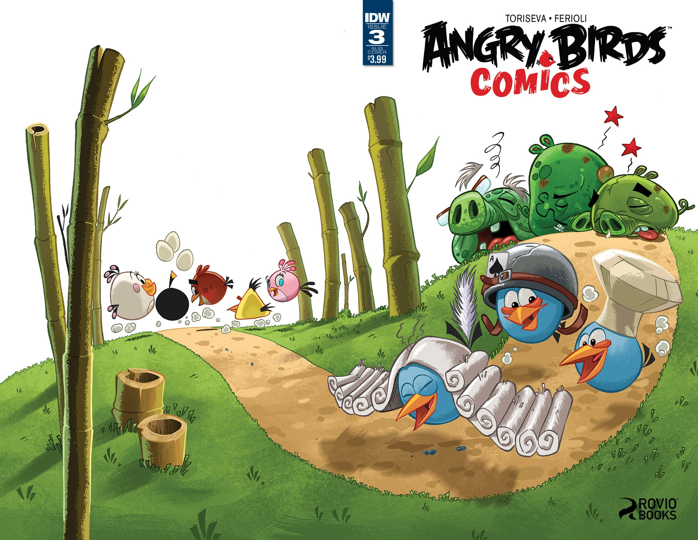 Angry Birds Comics Vol.2 003 (March 2016) (subscriber cover)