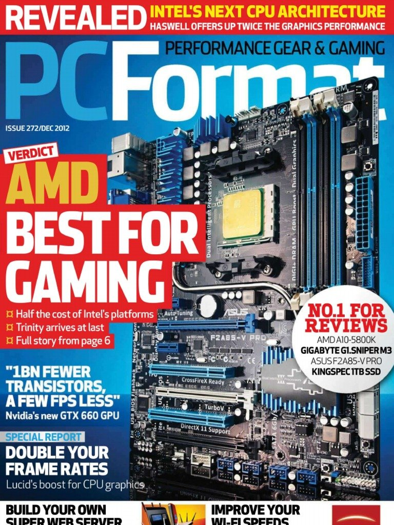 PC Format Issue 272 (December 2012)