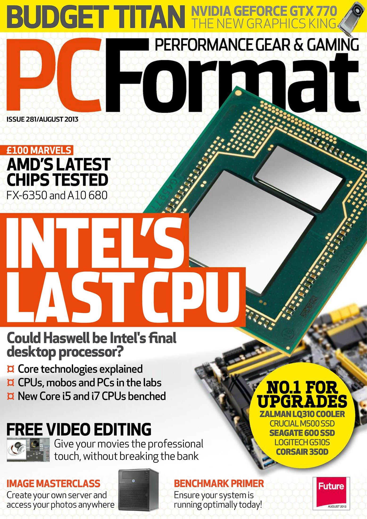 PC Format Issue 281 (August 2013)