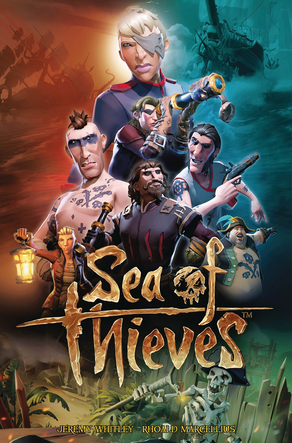 Sea of Thieves 03 (June 2018) (cover b)