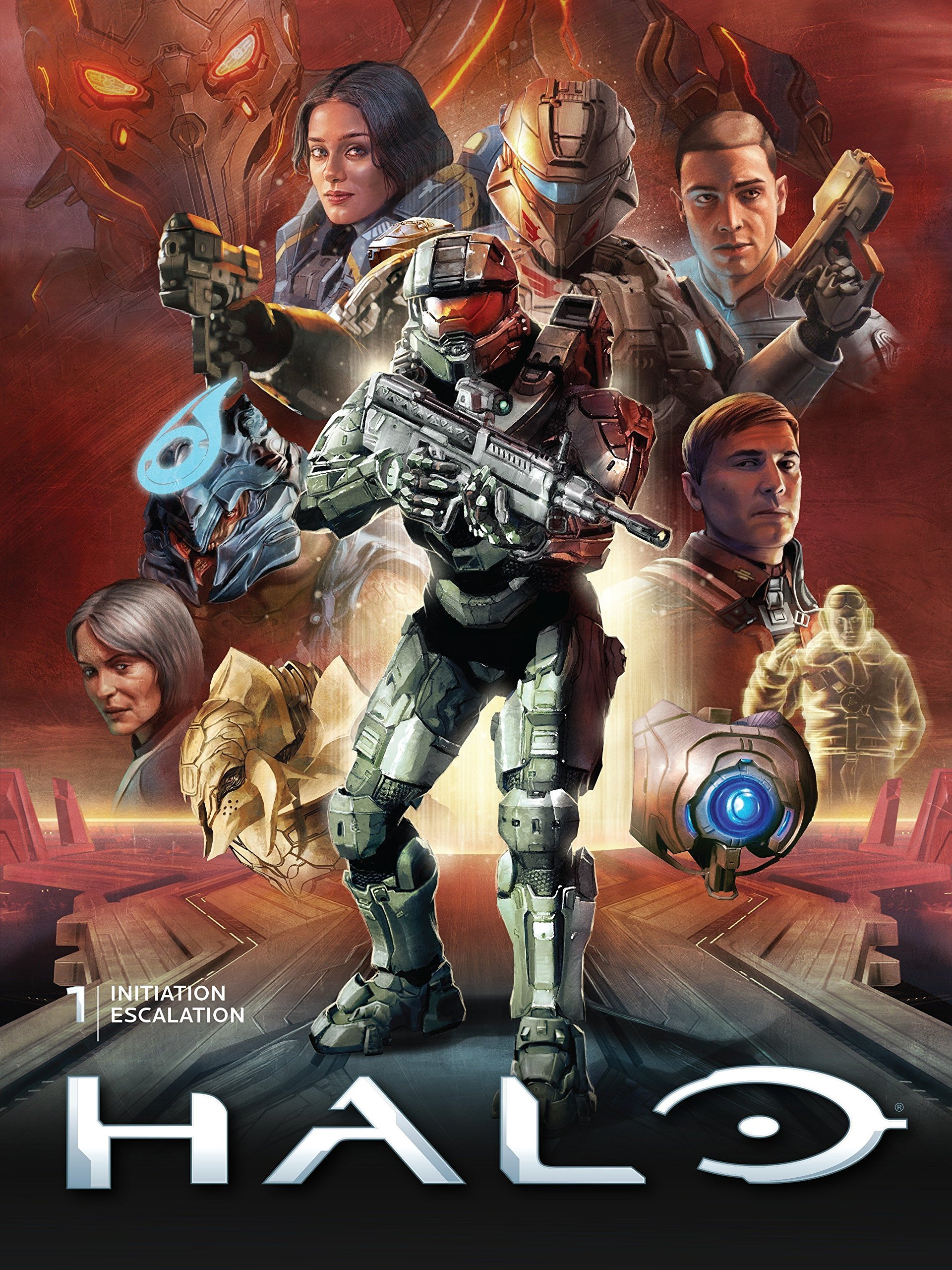 Halo Library Edition Volume 1