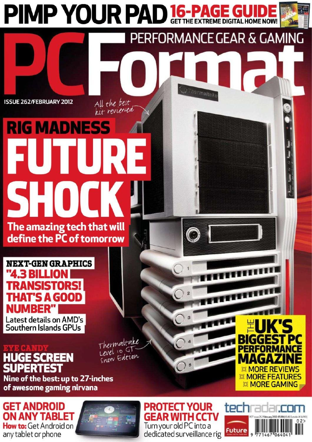 PC Format Issue 262 (February 2012)