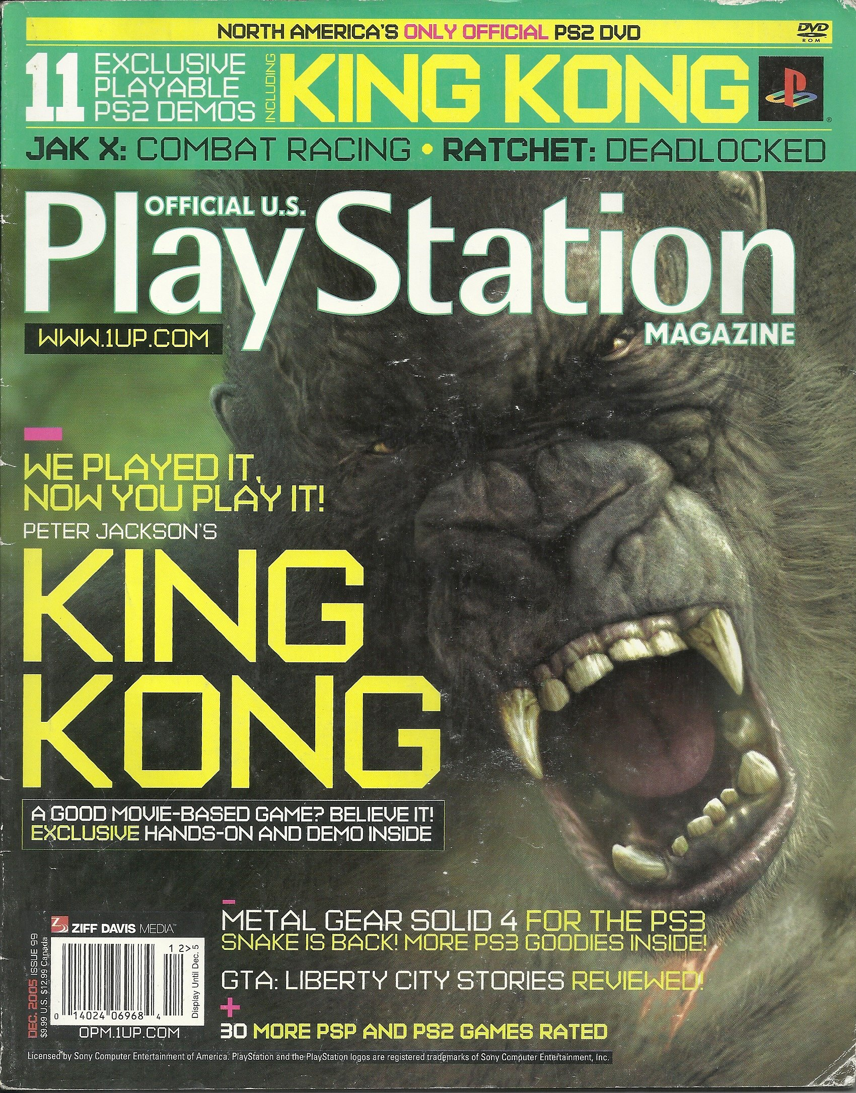 Official U.S. Playstation magazine Issue 099 (December 2005)