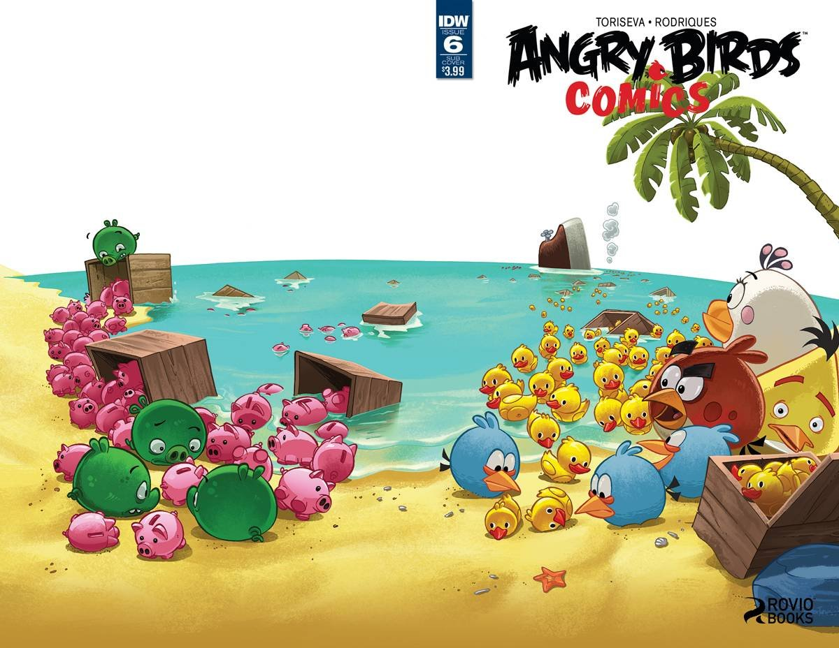Angry Birds Comics Vol.2 006 (June 2016) (subscriber cover)