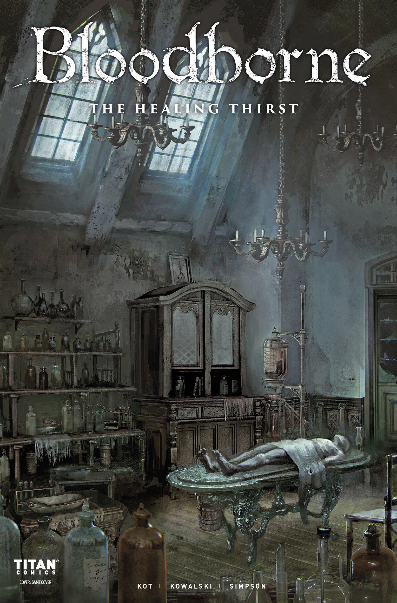 Bloodborne 005 (October 2018) (cover c)