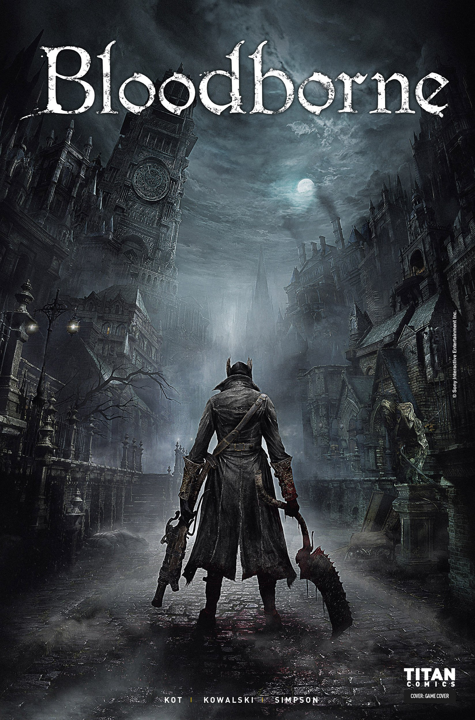 Bloodborne 001 (March 2018) (cover b)