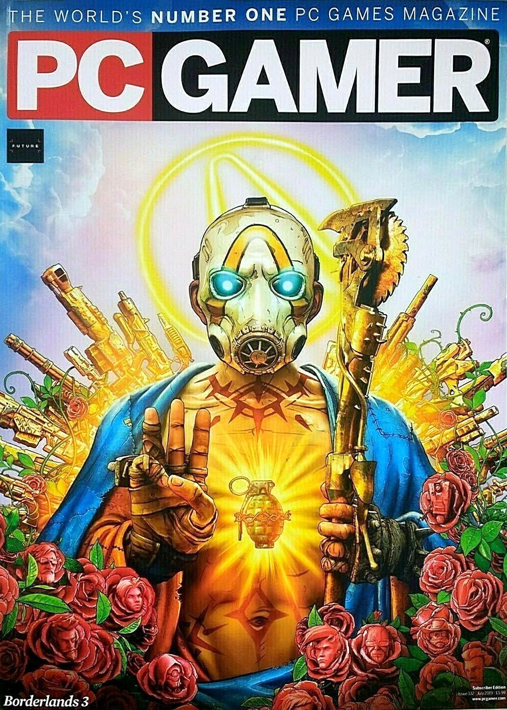 PC Gamer UK 332 (July 2019) (subscriber edition)