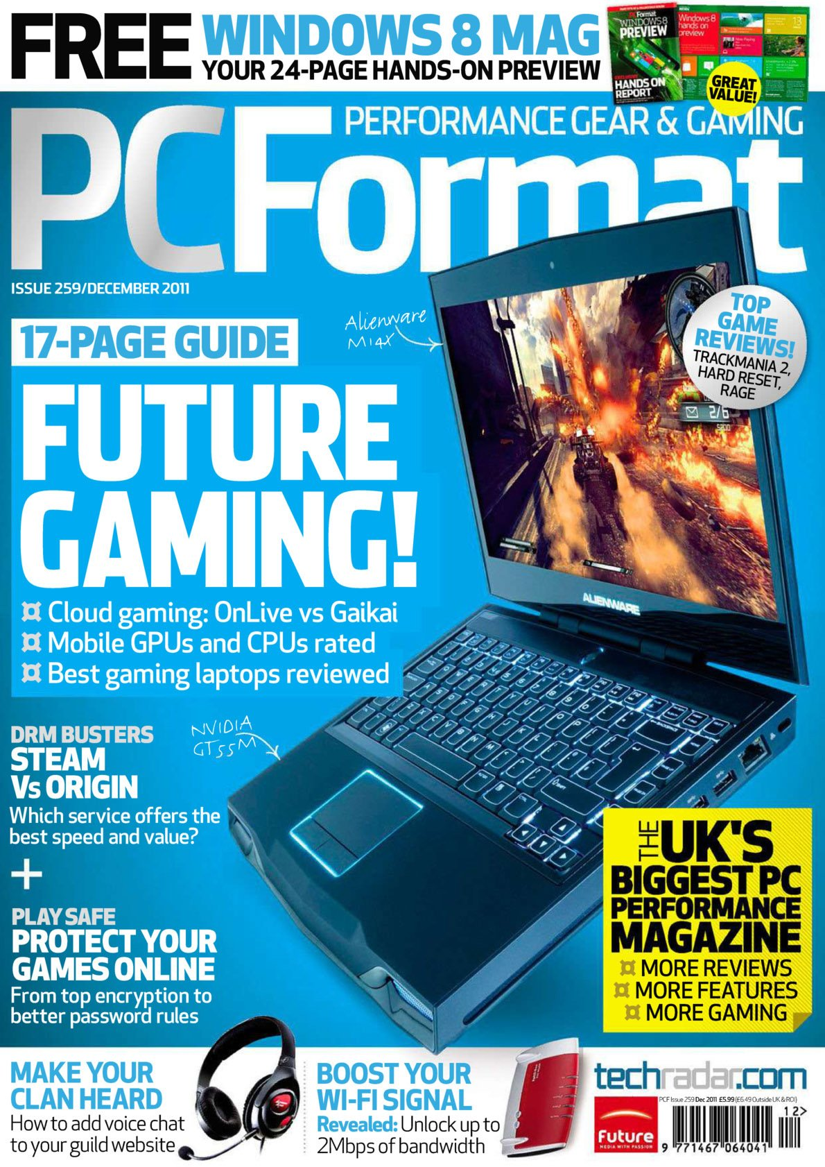 PC Format Issue 259 (December 2011)