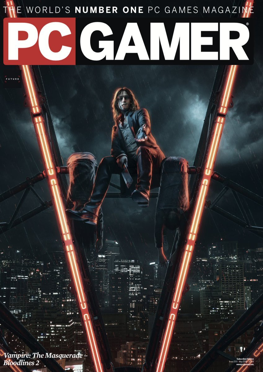 PC Gamer UK 330 (May 2019) (subscriber cover)