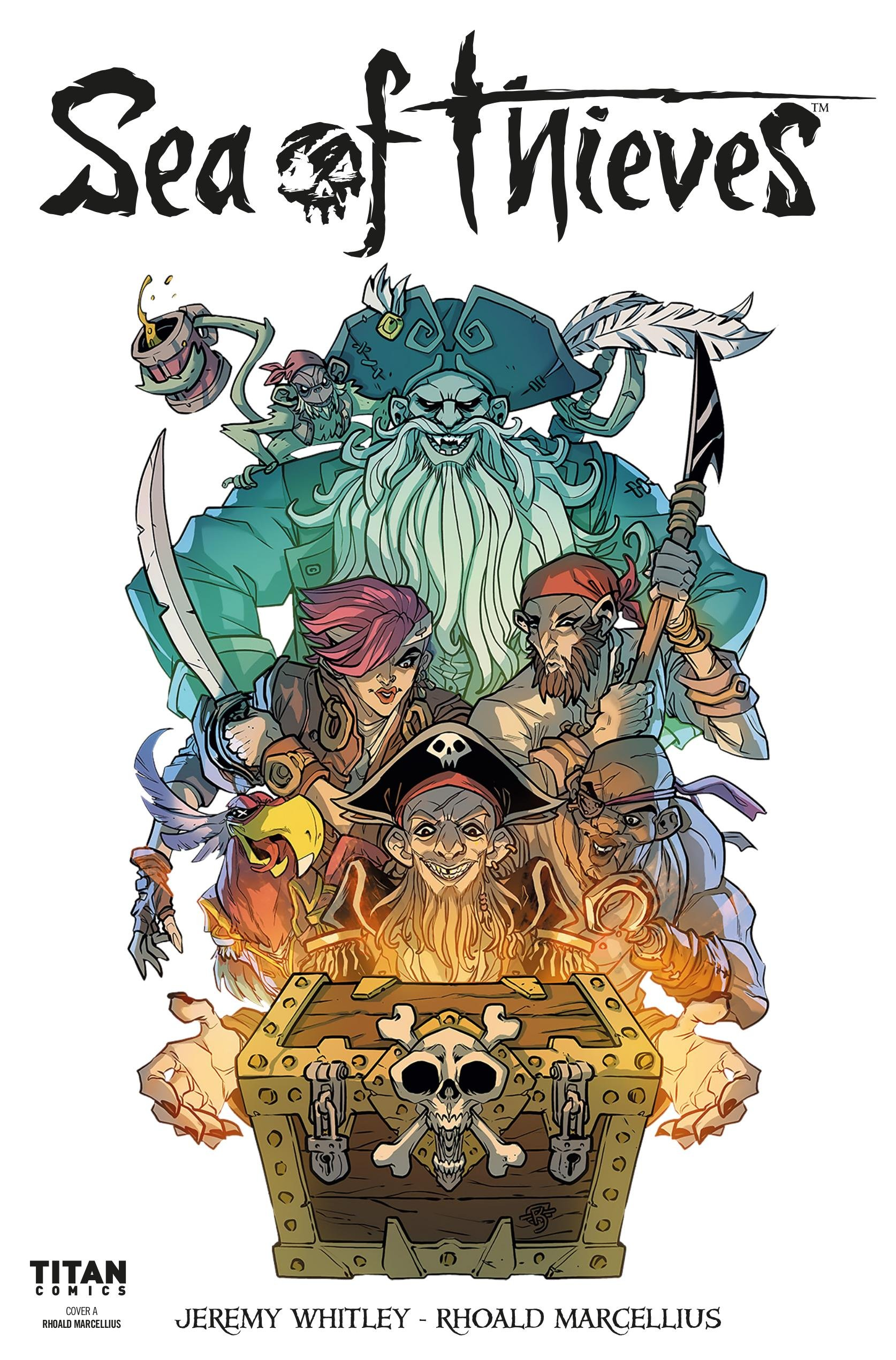 Sea of Thieves 01 (April 2018) (cover a)