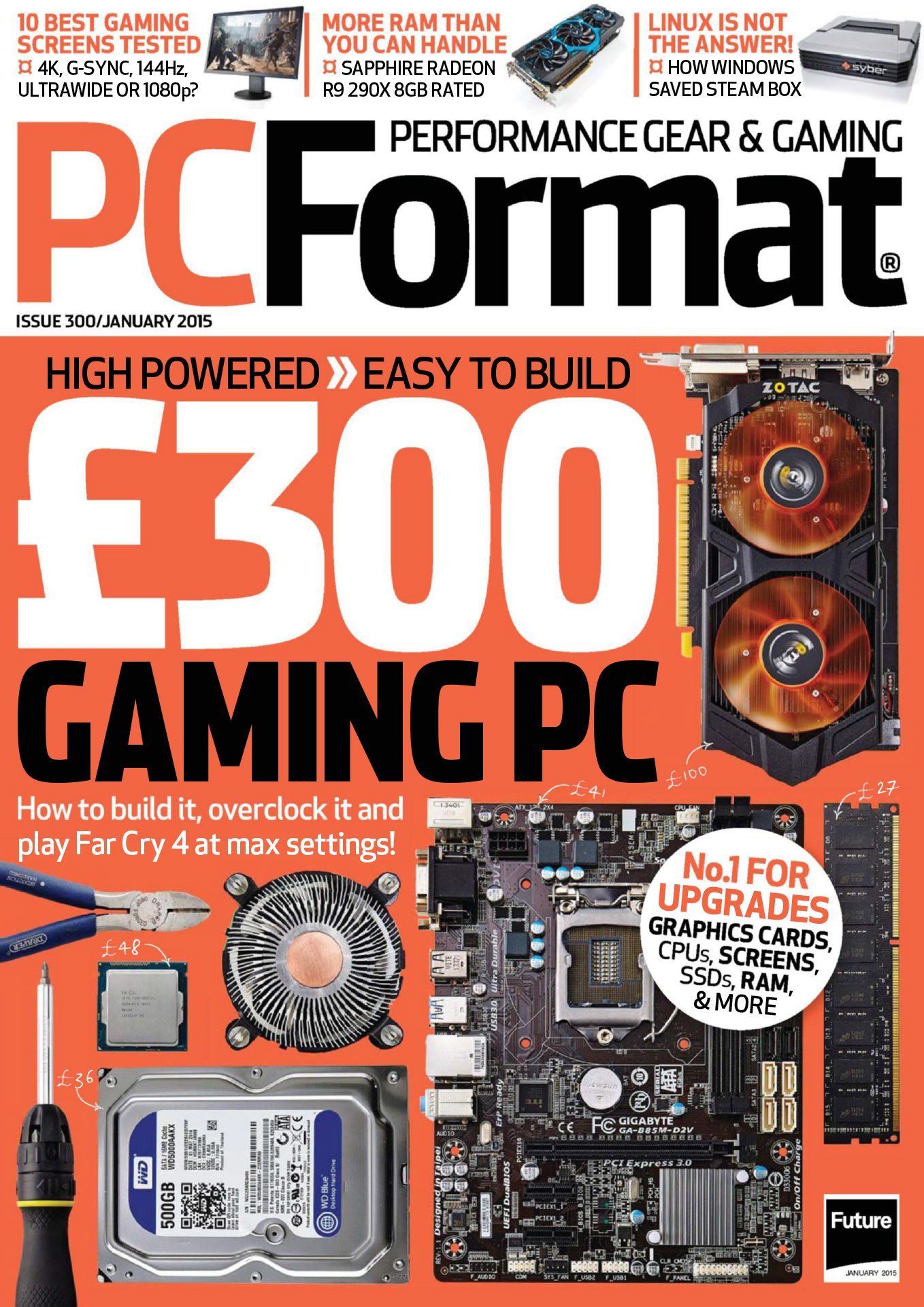 PC Format Issue 300 (January 2015)