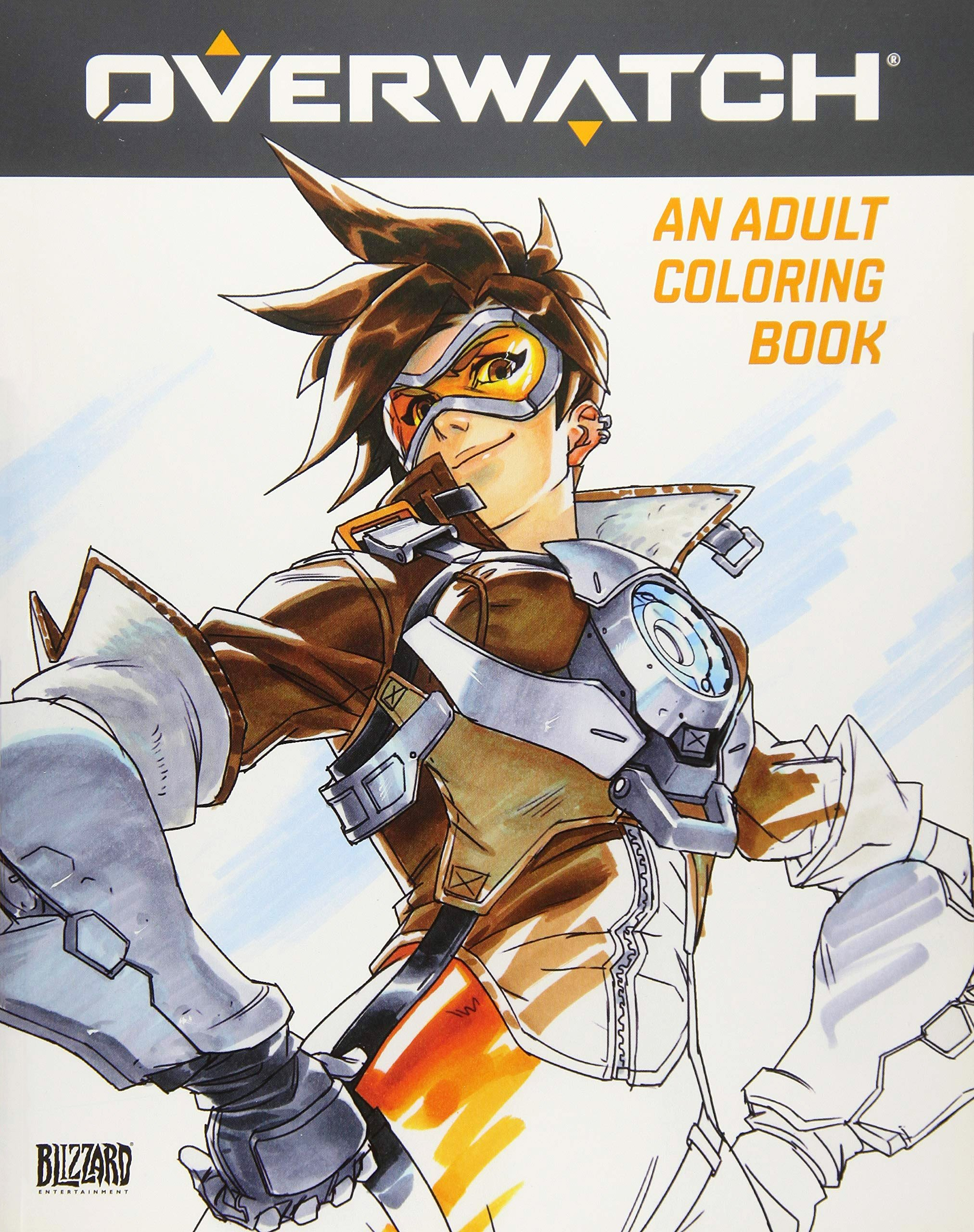 Overwatch - An Adult Coloring Book