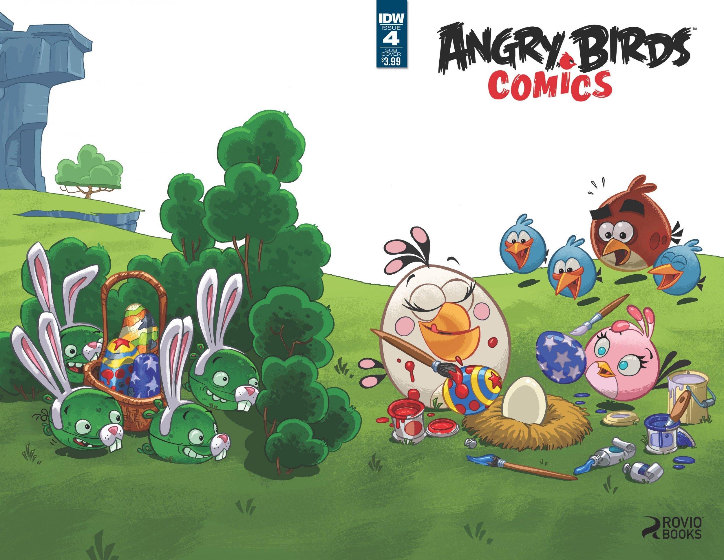 Angry Birds Comics Vol.2 004 (April 2016) (subscriber cover)