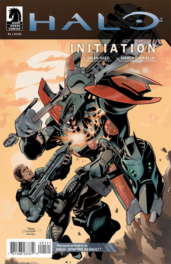 Halo - Initiation 01 (variant cover) (August 2013)