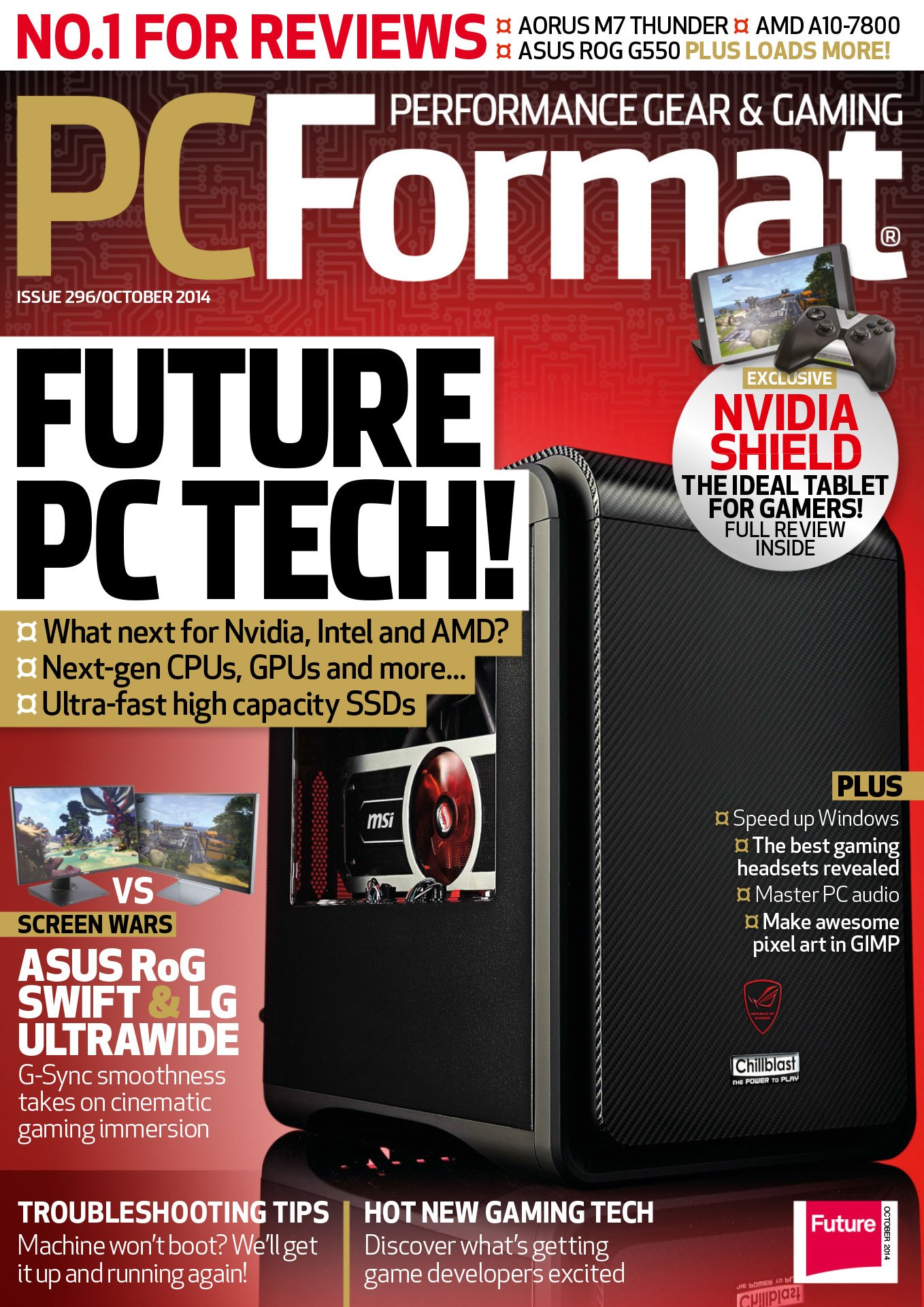 PC Format Issue 296 (October 2014)