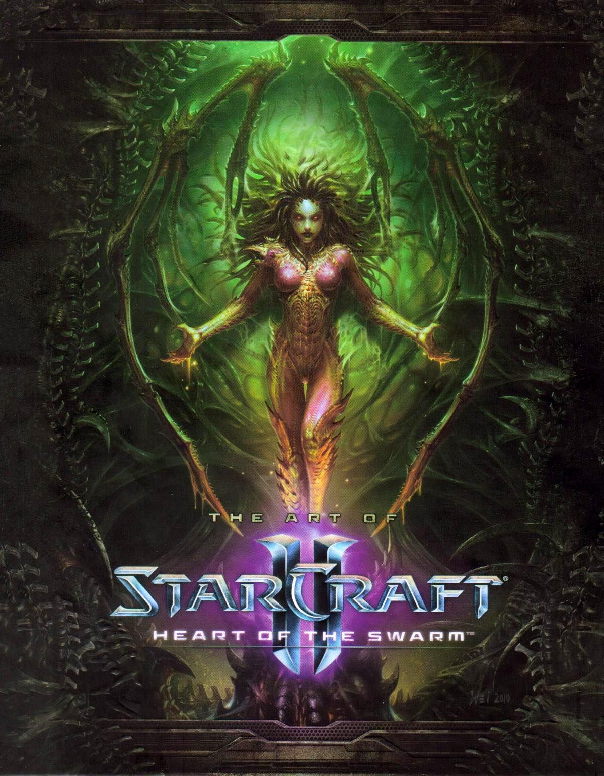 StarCraft - The Art of StarCraft II: Heart of the Swarm
