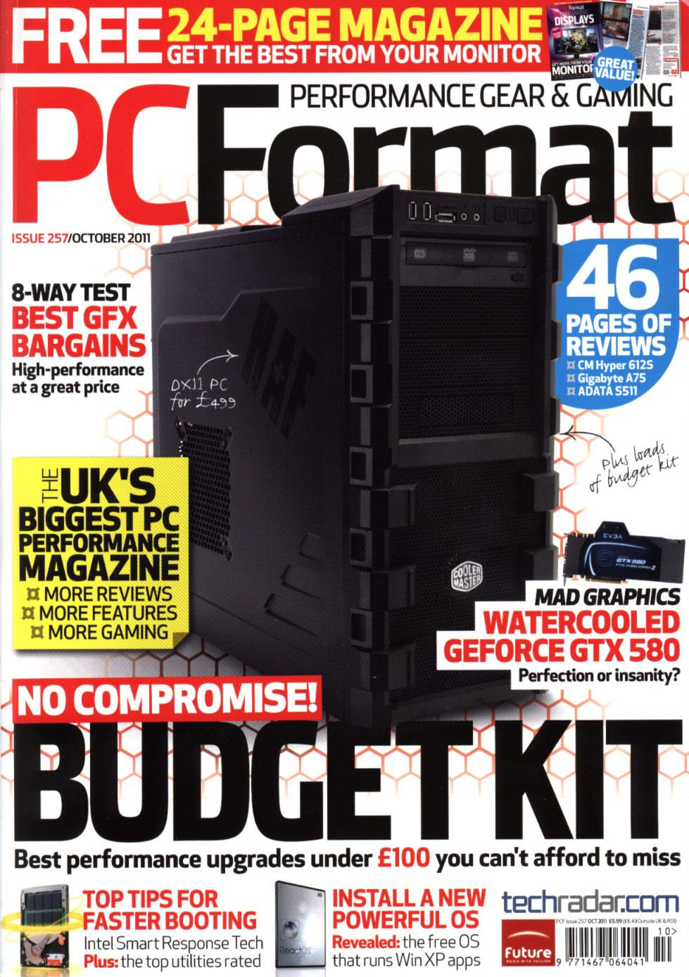 PC Format Issue 257 (October 2011)