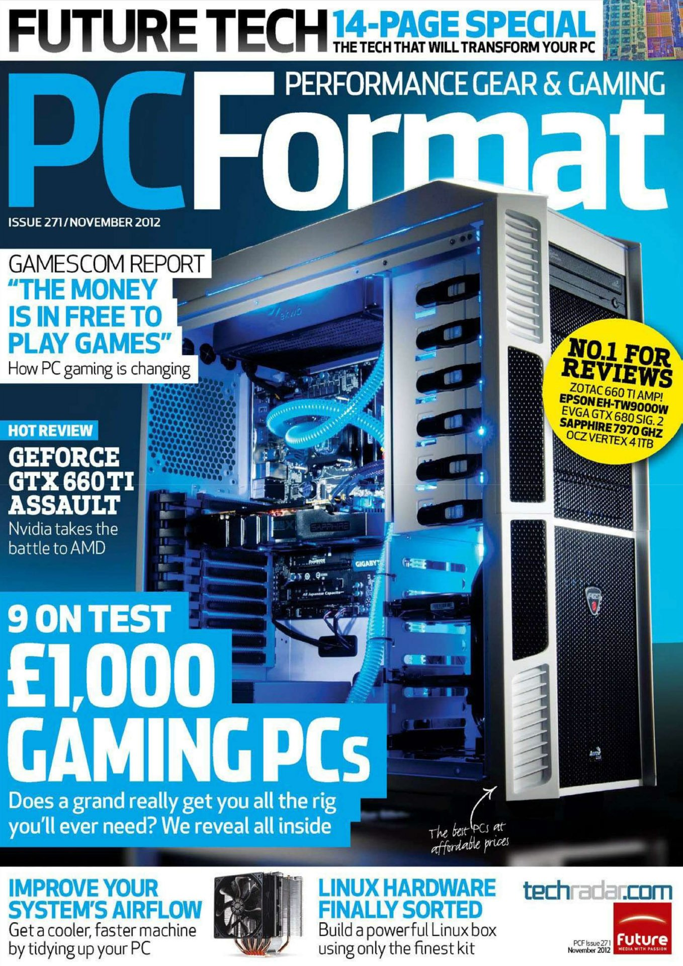 PC Format Issue 271 (November 2012)