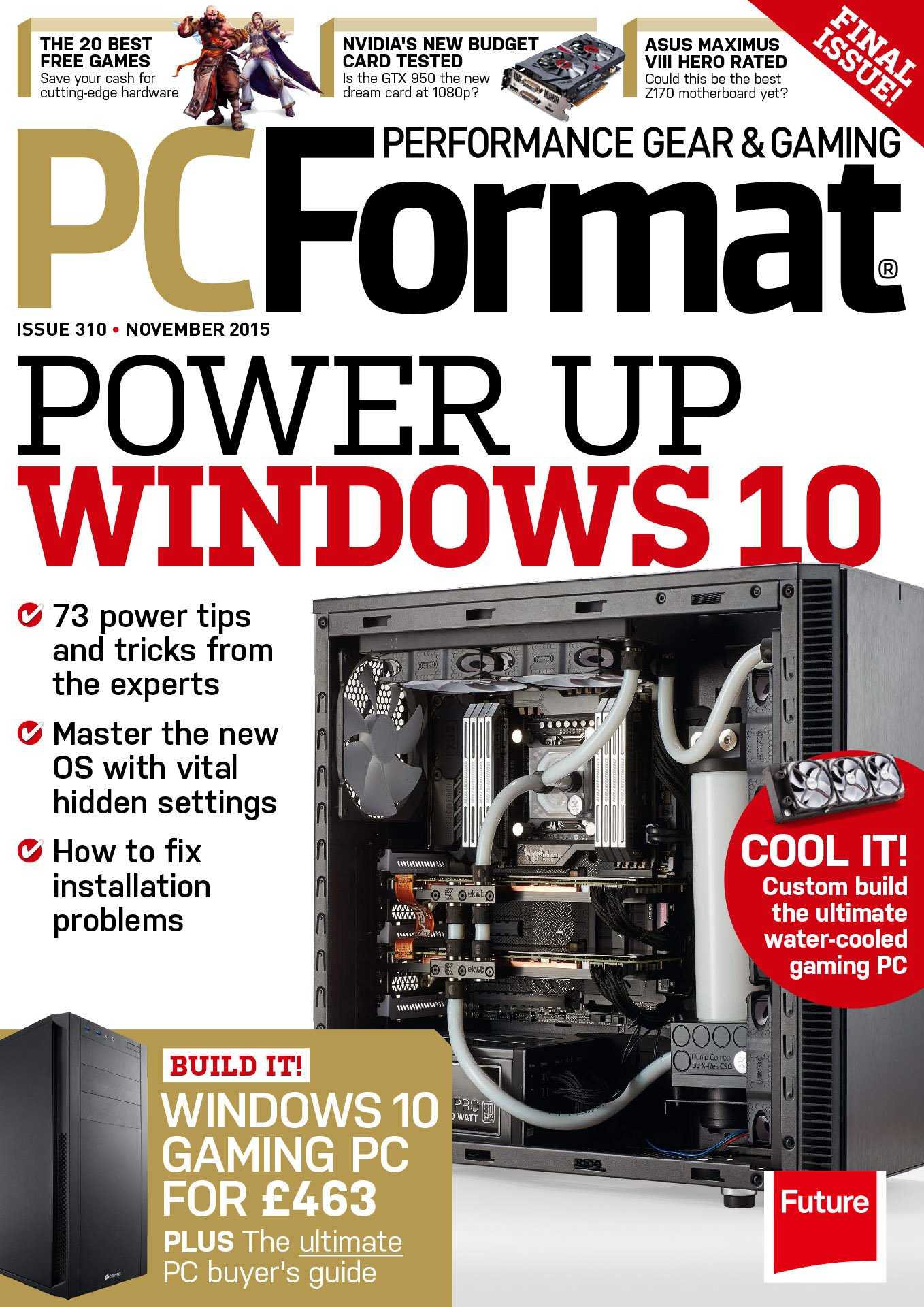 PC Format Issue 310 (November 2015)