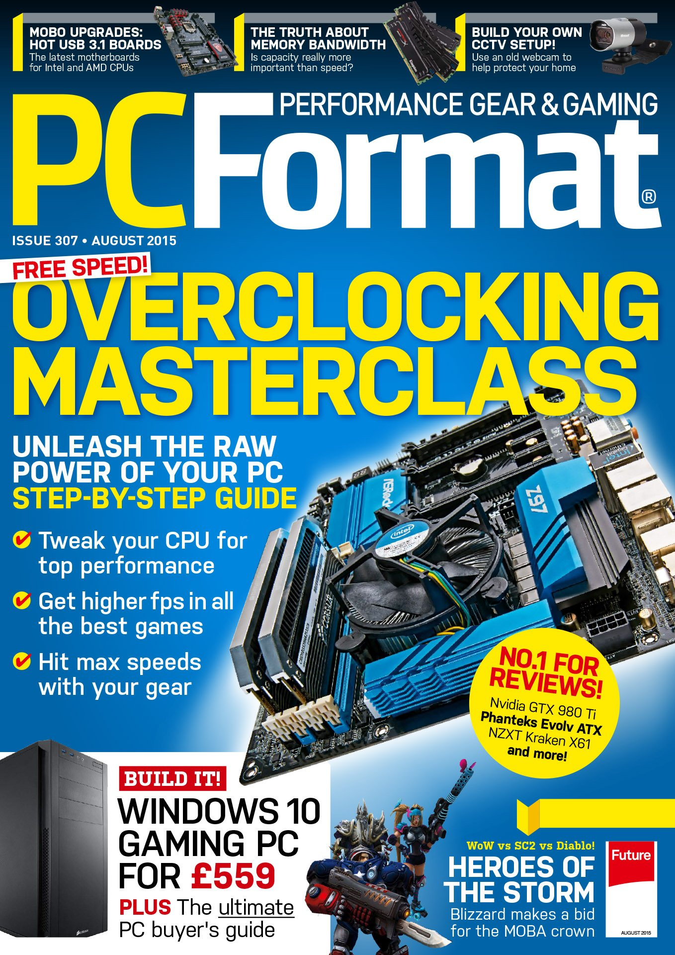 PC Format Issue 307 (August 2015)