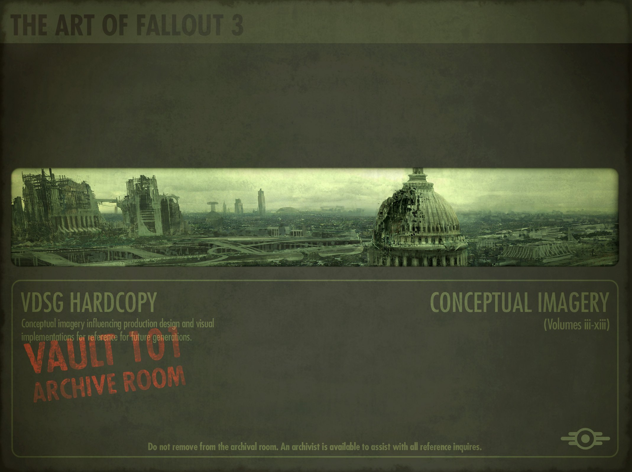 Fallout - The Art of Fallout 3